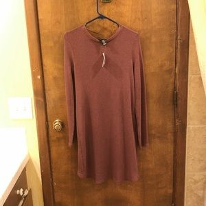 Rue21 Sweaters - Mauve button front knit cardigan. Size medium NWT
